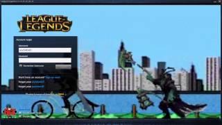 Lucian Stole My Bike - Custom Login Screen League of Legends