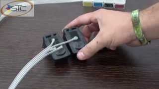 getlinkyoutube.com-Adaptacion e Instalacion de Sistema de Tinta Continua Canon MP250 STC