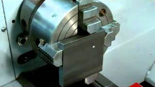 getlinkyoutube.com-dialing work off center in a lathe using a 4-jaw chuck