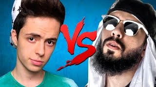 getlinkyoutube.com-Enaldinho VS. Mussoumano | Batalha de Youtubers (prod. Wzy)