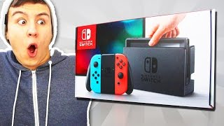 getlinkyoutube.com-DIE NINTENDO SWITCH UNBOXING!? [Deutsch/HD]