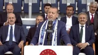 """Cumhurbaşkanı Erdoğan, """"Bizim zorlamayla, baskıyla işimiz olmamıştır"""