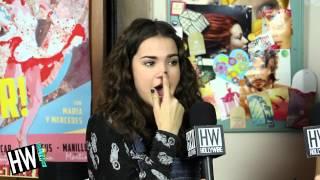 getlinkyoutube.com-Maia Mitchell Reveals First Celebrity Crush & Nerdiest Obsession!