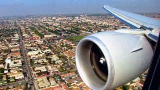 American Airlines B777 Landing Los Angeles