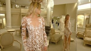 getlinkyoutube.com-See-Through Wedding Dress Trend Leaves Little to the Imagination