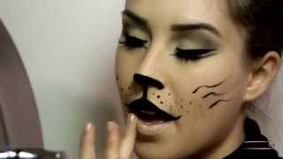 getlinkyoutube.com-SONO DIVENTATA UN GATTO - Makeup tutorial Carnevale 2015