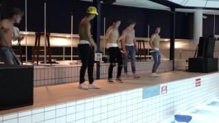 getlinkyoutube.com-B-Brave Pool Part Nieuwegein Last 2 songs shirtless.