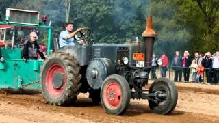getlinkyoutube.com-Wickensen 2015 Traktorpulling Lanz Bulldog Pampa Ursus Schlüter ZT Deutz Eicher Hanomag tractor