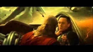"""Loki Dies in Thor The Dark World to """"Mad World"""" thor"""