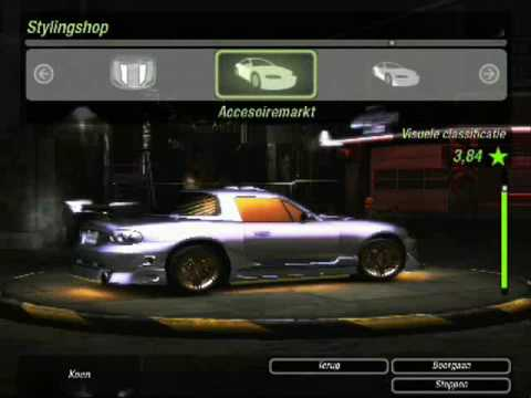 Need for Speed Underground 2 Mazda MX-5 tuning