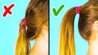 20 COOL 1-MINUTE HAIRSTYLE HACKS