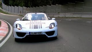918 Spyder: successful test on the Nürburgring