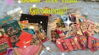 DOLLAR TREE HAUL GIVEAWAY!! Aug 2015 {{CLOSED!!}}