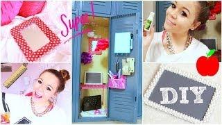 getlinkyoutube.com-Back To School: Locker Organization + DIY Decorations! | Krazyrayray