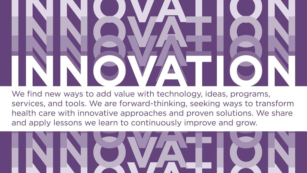 Core Values: Innovation