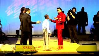 """getlinkyoutube.com-Prophet Manasseh Jordan - """"Must see"""" 8 year old receives Prophetic Anointing"""