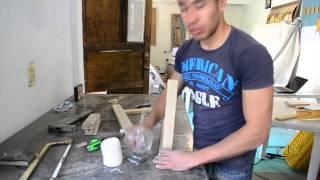 getlinkyoutube.com-Hazlo en casa Jue 4 Abr Como hacer un perchero con troncos de árboles