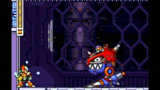 getlinkyoutube.com-Megaman X3 Zero 100% Black Armor