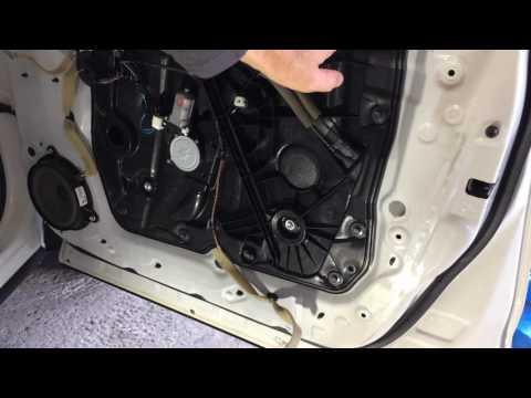 Ремонтируем ручку передней двери Ниссан Мурано Z51 Nissan Murano