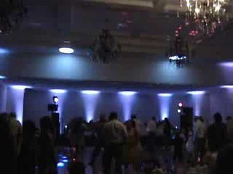 Gig Log wedding DJ With Up-Lighting Directsound Decor Event Lighting uplighting Hellenic Center