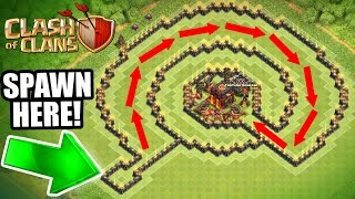 "getlinkyoutube.com-Clash Of Clans - INSANE ""NO NAME"" TROLL BASE!! - CAN IT BE BEATEN!?!"