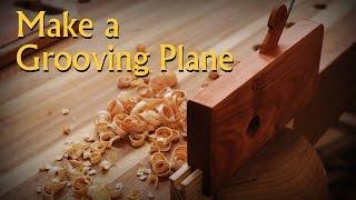 getlinkyoutube.com-Making a Moulding Style Groove Plane