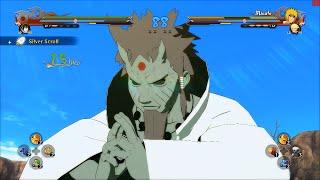 getlinkyoutube.com-Naruto Ultimate Ninja Storm 4 PC MOD - Hagoromo Otsutsuki Sage of Six Paths Moveset Mod Gameplay