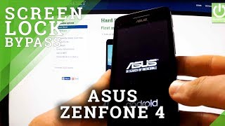 Hard Reset ASUS Zenfone 4 - Bypass Lock Screen Pattern and Password