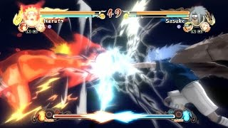 Naruto Ultimate Ninja Storm - All Jutsu Clashes