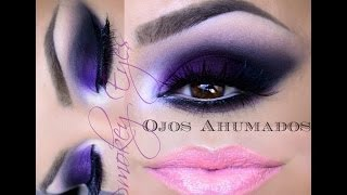 getlinkyoutube.com-@auroramakeup -Ojos Ahumados Economico / Smokey eye (ENGLISH SUBTITLES)