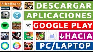 getlinkyoutube.com-Cómo Descargar Aplicaciones de GooglePlay a la PC