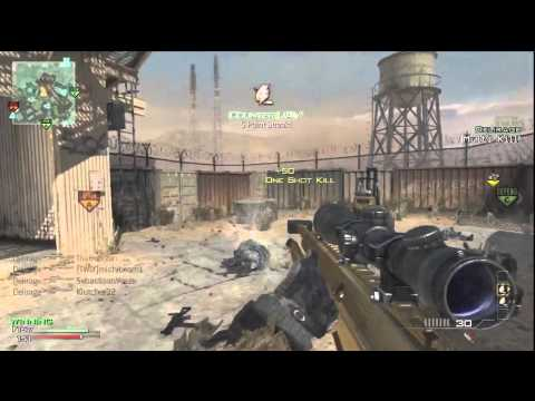 MW3: Insane 9 Man Barret Sniper FEED | Modern Warfare 3
