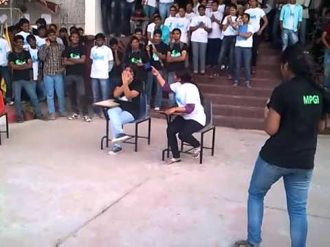 nukkad natak by i t branch-2013 batch-Maharana pratap engineering college