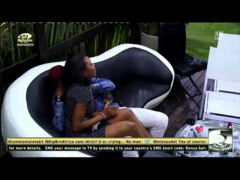 Big Brother Hotshots - Romantic moment