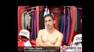 Victor Pineda debuta en el Chicago Fire