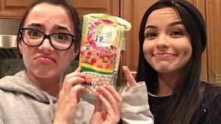 getlinkyoutube.com-Making Bubble Tea - Merrell Twins