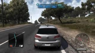 getlinkyoutube.com-Test Drive Unlimited 2 Volkswagen Golf VI GTI (PC gameplay) [720p HD]