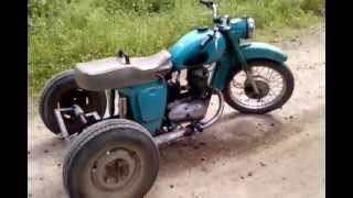 getlinkyoutube.com-Обзор на трицикл сделаный из ИЖ ПЛАНЕТА 2
