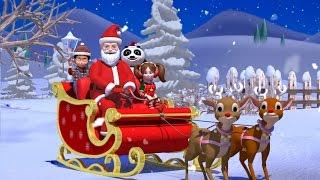 getlinkyoutube.com-Jingle bells | Nursery rhymes and Kids songs | Kindergarten songs for children  | Kiddiestv