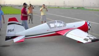 getlinkyoutube.com-LARGEST RC PLANE DUBAI (55% YAK)