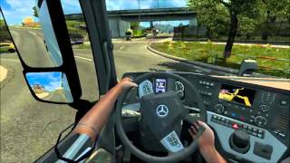 ETS2 Animated hands on steering wheel