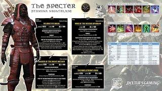 getlinkyoutube.com-Stamina Nightblade Build for One Tamriel The Solo Specter for Veteran Maelstrom Arena