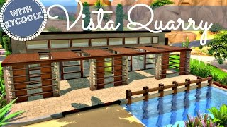 getlinkyoutube.com-Sims 4 | House Build: Vista Quarry (Renovation Collab w/ Kycoolz)