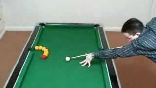getlinkyoutube.com-Pool trick shots