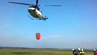 Taktické  cvičení plnění Bambi vaku Letiště Polička