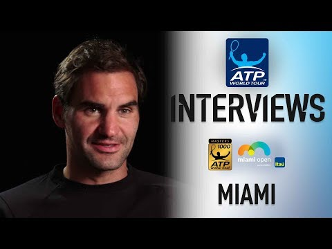 Defending Champion Federer Reflects On Miami