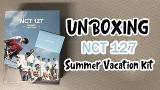 NCT127 Summer Vacation Kit 개봉 후기