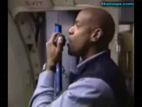 Funny Airline Steward