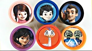 getlinkyoutube.com-Disney Jr. Miles From Tomorrowland Learn Colors Playdoh TOY Surprises, Loretta, Merc / TUYC