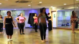 getlinkyoutube.com-BELLY DANCE LESSON WORK OUT (FULL)  BELLY DANCING